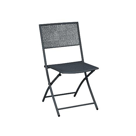 greemotion Chaise de jardin pliante Mykonos - Lot de 2 ...