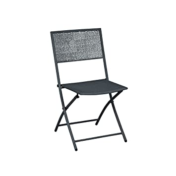 greemotion Chaise de jardin pliante Mykonos - Lot de 2 chaises ...