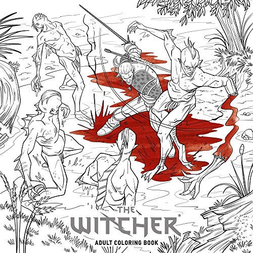 The Witcher Adult Coloring Book