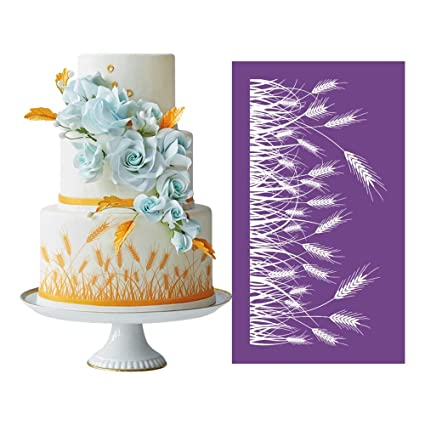 Pastry Making Cake Decorating Tools Fondant Mold Lace Mold Painting Stencil