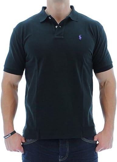 Polo Ralph Lauren Classic Fit Polo Men's Polo Shirt Black Size XXL
