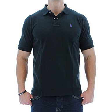 559480269 Polo Ralph Lauren Classic Fit Mesh Polo at Amazon Men's Clothing store: