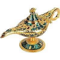 FTVOGUE Legend Magic Genie Lámpara de luz Aladdin