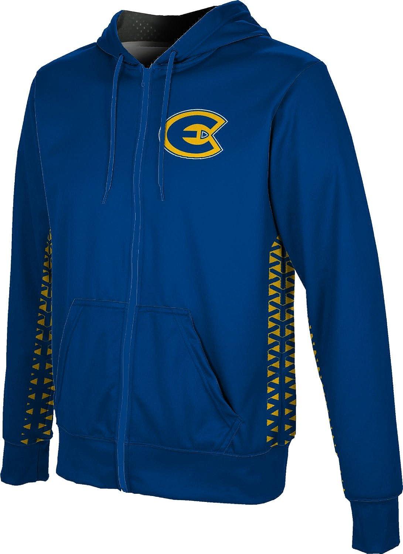 ProSphere University of Wisconsin-Eau Claire Boys Full Zip Hoodie Geo