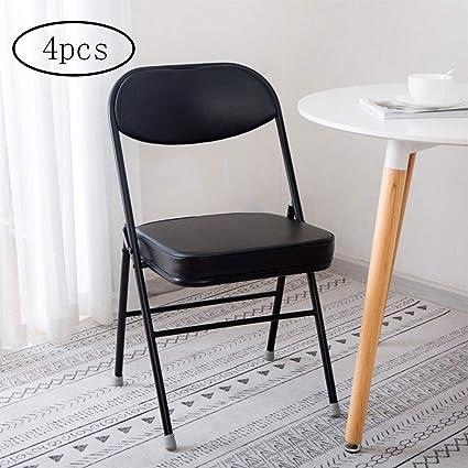 Silla plegable, silla de oficina en casa plegable de alta ...