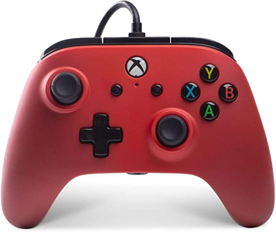 Mando Con Cable Mejorado Crimson Fade (Xbox One): Amazon.es ...