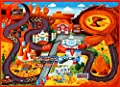 Disney Cars Play Rug Lightning McQueen Mater HD Printed Kids Room Decor Bedding Throw Area Rugs 5x7, X Large