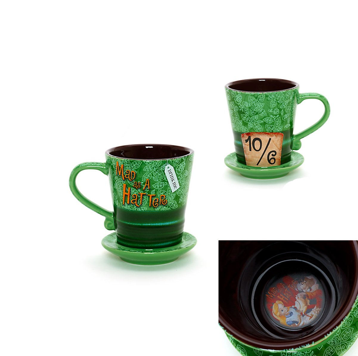 Disney Mad Hatters Mug Disneyland Paris Import by Disney ...