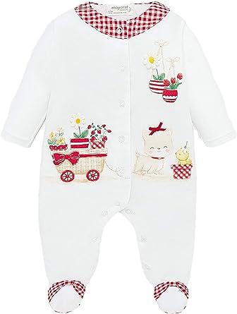 Mayoral 20-01761-015 - Babygrow para bebé niña 2-4 Meses ...