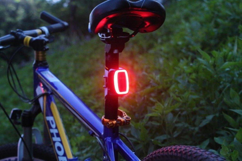 Intelligente luce posteriore per bicicletta usb fanale