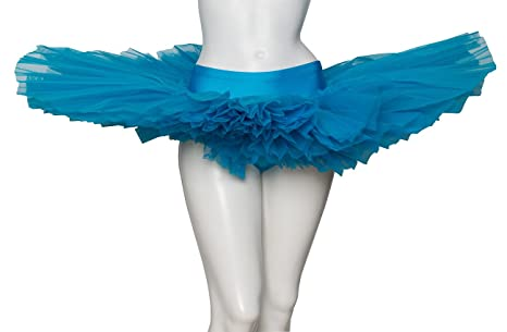 Katz Dancewear Turquoise Blue Premium Dance Ballet Leotard Tutu With Sparkly Silver Sequins Girls Ladies