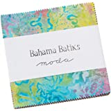 The Sweet Life Batik Charm Pack by Pat Sloan from Moda,42 5-inch Squares 43057PP
