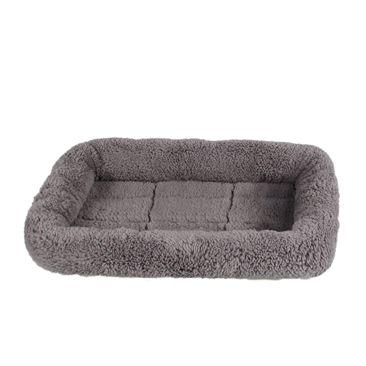 (42cm by 28cm ) LESYPET Small Dog Crate Cotton Washable Mat