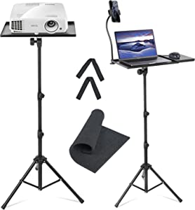 Delam Projector Stand Adjustable Tilt and Height 18