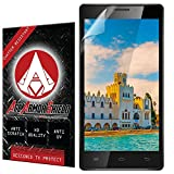 Ace Armor Shield Shatter Resistant Screen Protector for the Intex Aqua Power HD / Military Grade / High Definition / Maximum Screen Coverage / Supreme Touch Sensitivity /Dry or Wet Easy Installation with free lifetime replacement warranty