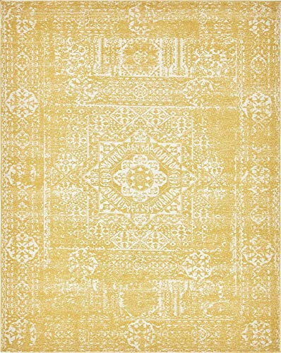 Unique Loom Tradition Collection Classic Southwestern Yellow Area Rug (8' 0 x 10' -