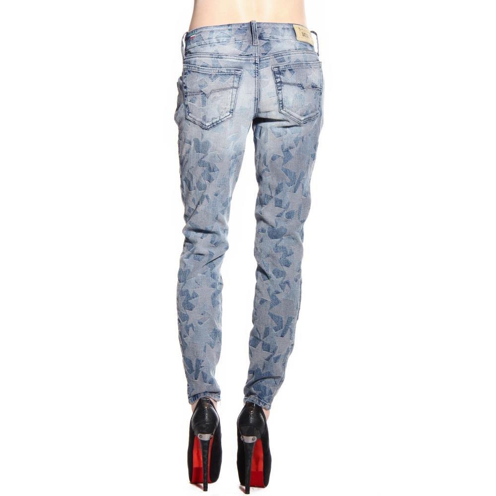 Diesel Women's Grupee-Zip Super Slim Skinny Leg Jean 0606M, Indigo, 28x32 by Diesel (Image #6)