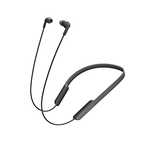 Sony MDR-XB70BT - Auriculares Bluetooth de contorno de cuello (EXTRA BASS, NFC, manos libres para Apple iPhone y Android, autonomía de 9 h), color negro: ...