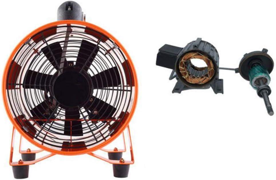 FAN GGCG Ventilador de 12 Pulgadas Ventilador de ventilaci/ón port/átil cil/índrico axial Ventilador de Alta Potencia de la Industria dom/éstica