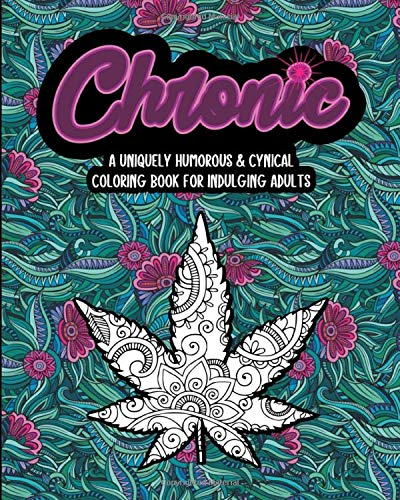 Weed coloring page | Etsy | 500x400