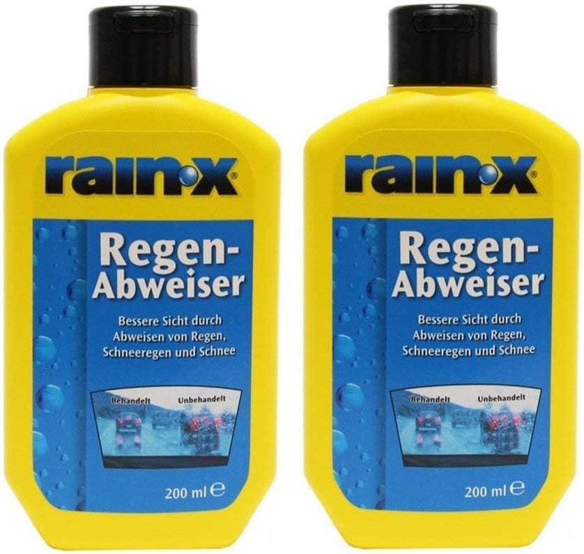 2x Rain X Regenabweiser 200 Ml Scheibenwischer Auto Scheibenreiniger Auto