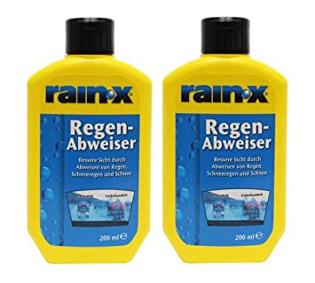 Rain X - Repelente de lluvia para cristales de coche (200 ml, 2 ...
