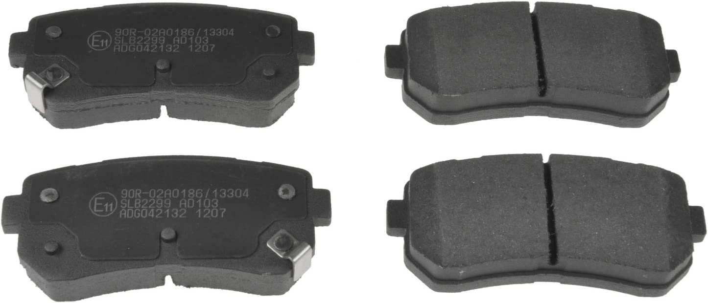 pack of four Blue Print ADG042132 Brake Pad Set