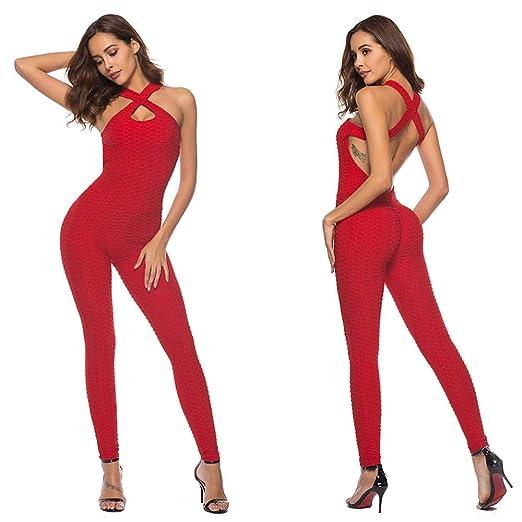 Conjuntos de ropa deportiva para mujer Pantalones de yoga de ...