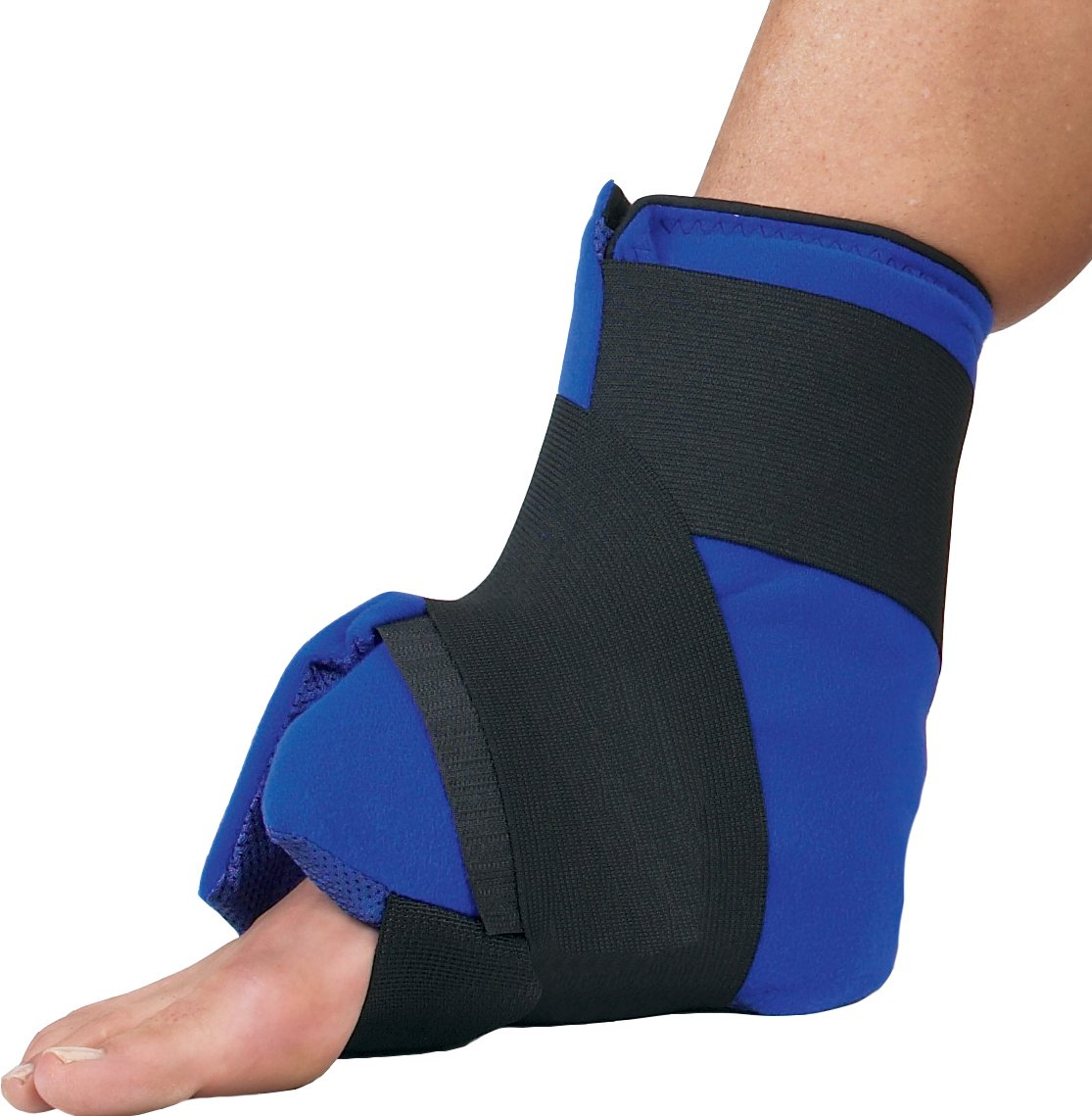 DonJoy DuraSoft Cold Therapy Foot and Ankle Wrap with 4 Ice Mat Inserts