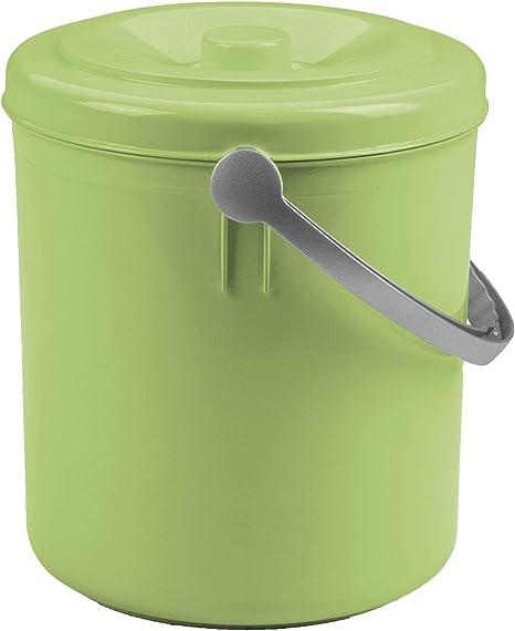Mülleimer 15 Liter mit Henkel und verschließbarem Deckel