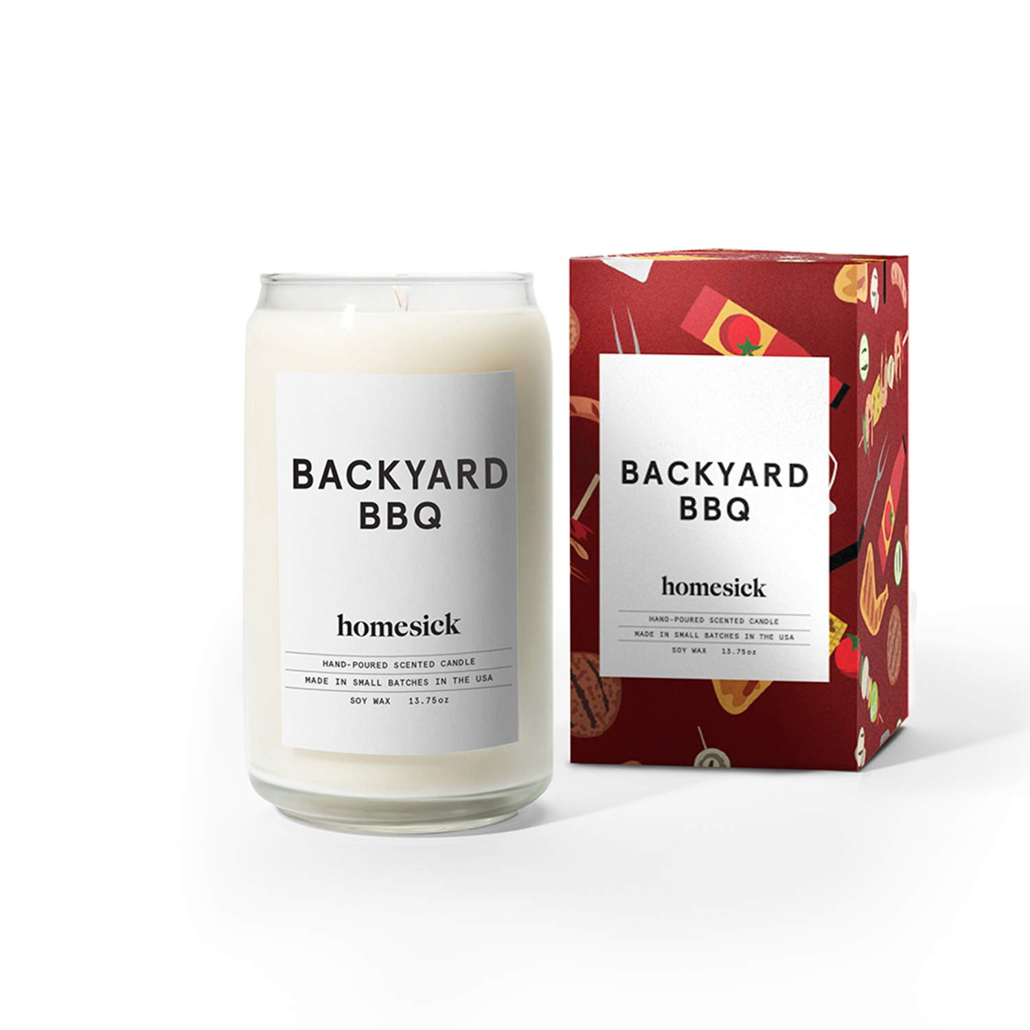 Homesick Scented Candle, Backyard Bbq