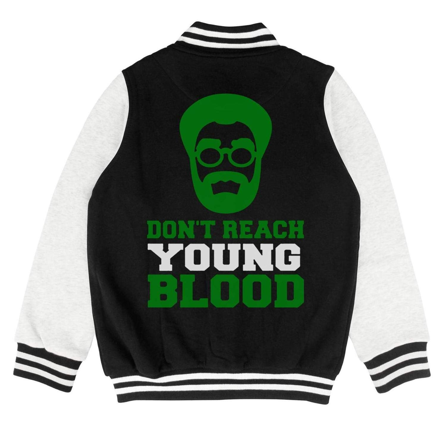 Dont Reach Young Blood Kids College Jacket Fashion Baseball Jacket for 2-10 Y