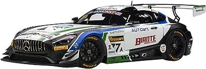 Autoart MERCEDES AMG GT3 CRAFT BAMBOO BLACK FALCON BATHURST 12 HOUR 2019 1//18