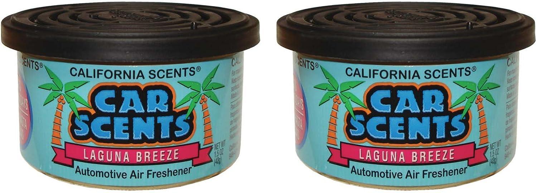 Amazon.es: California Car Scents F324 Laguna Breeze – Ambientador para Coche (Pack de 2)