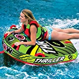 Search : Wow Watersports Thriller Deck Tube Water Towable Tube Inflatable Boat Tube, Wild Wake Action - Water Sports Inflatables - Towable Tube