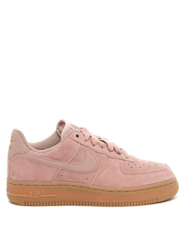 the latest eb36e 3a0f1 Amazon.com | Nike Air Force 1 '07 Women's Brown/Ivory AA0287 ...