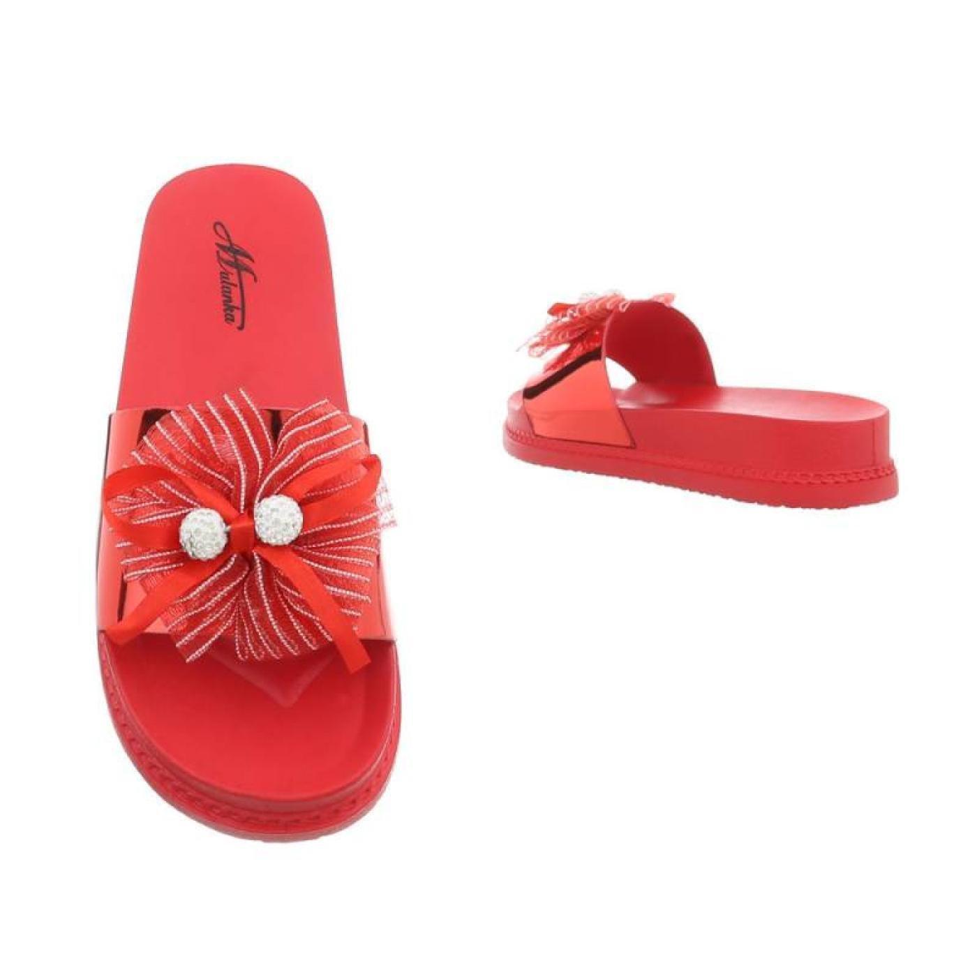 Cingant Woman - Zapatilla Baja de Sintético Mujer, Color Rojo, Talla 37 EU: Amazon.es: Zapatos y complementos