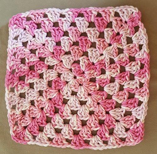 Amazoncom Crochet Dishcloth Crocheted Washcloths Crocheted Dish