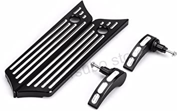 Edge Cut Saddlebag Latch Cover Fit For Harley Touring Electra Street Glide 14-18