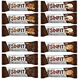 SINFIT® High Protein Bars, Great Tasting, 30g Protein, Gluten Free, 12-pack Review