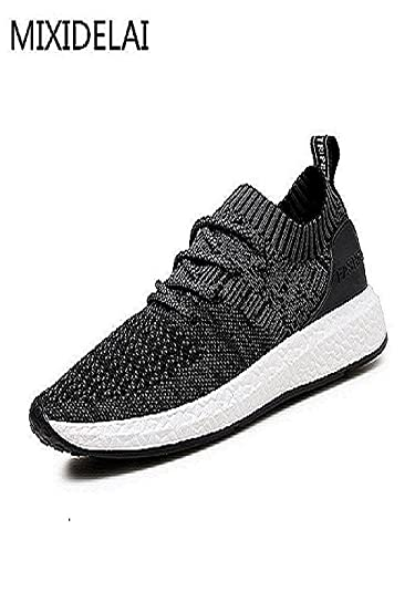Amazon.com | Mixidelai 2017 New Spring Summer Mens Casual Shoes Chaussure Homme Korean Breathable Air Mesh Men Shoes Zapatos Hombre | Shoes
