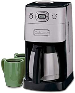 Cuisinart DGB-650BCP1 Grind & Brew 12-Cup Automatic Coffee Maker