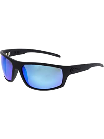 a6162af7b30 Electric TECH ONE Matte Black OHM Grey Blue Chrome Sunglasses at Amazon  Women s Clothing store