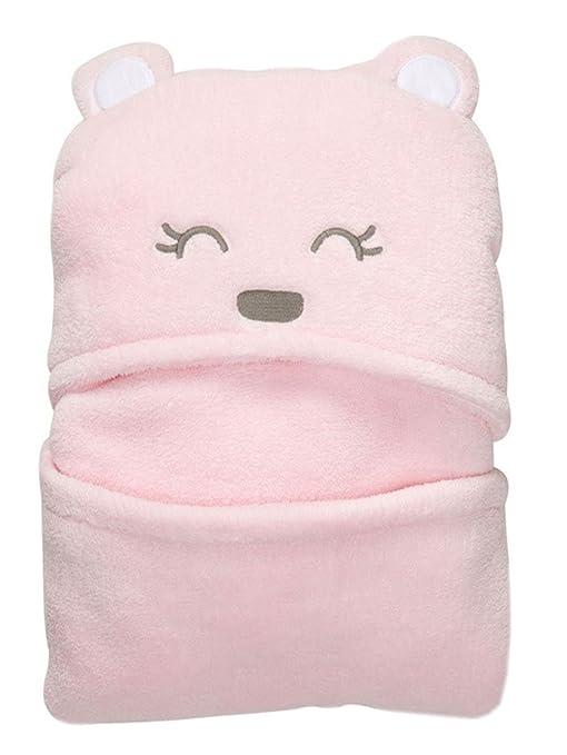 Modelshow primavera verano saco de dormir de arrullo para bebé, oso con capucha de bebé