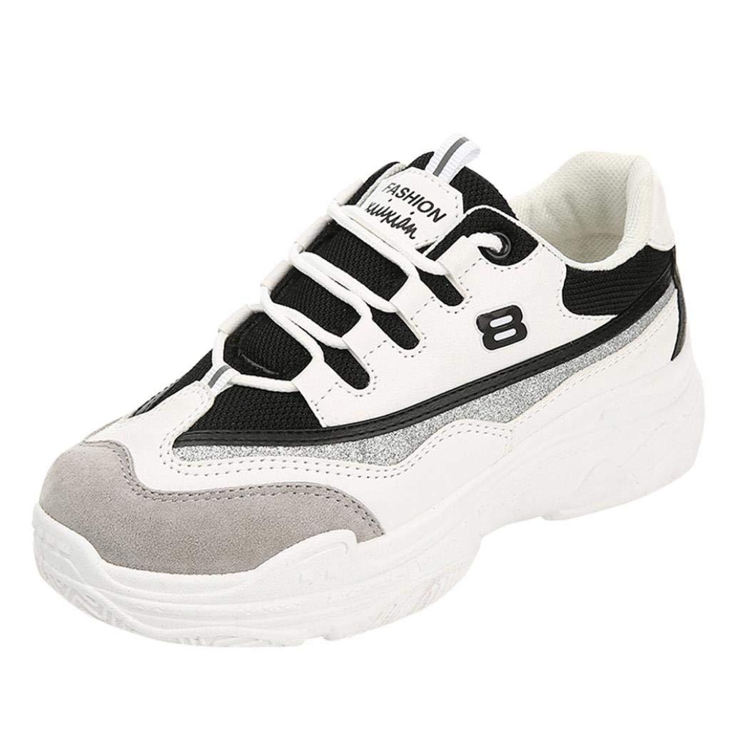 Zapatos Mujer, Mujer Retro talón Plano Boca Poco Profunda Color sólido Zapatos Casual Zapatos Planos