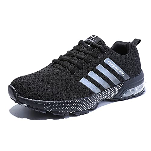 a9fbbec8027e5 Senbore Men Casual Sports Shoes Air Trainers Fitness Flats Running Athletic  Competition Sneakers  Amazon.co.uk  Shoes   Bags
