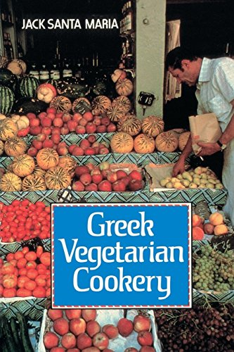 Greek Vegetarian Cookery by Jack Santa Maria