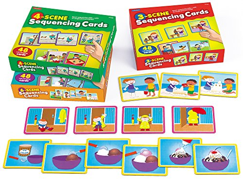 Lakeshore Story Sequencing Cards - Complete (Sequencing Stories)