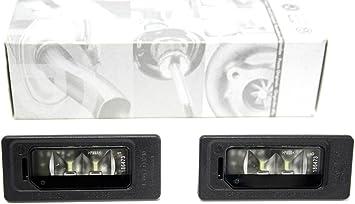 LED Kennzeichenbeleuchtung Set Nummernschildbeleuchtung Kennzeichen Leuchten VW