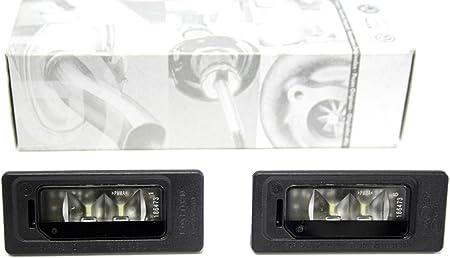 Original Vw Led License Plate Lights Golf 6 Plus Passat Touareg Sharan Tiguan License Plate Light Auto